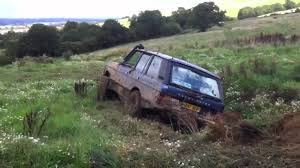 land rover classic range rover classic vogue v8 offroad youtube