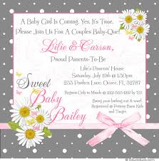 baby shower for couples polka dot shower invitation retro baby pink black