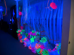 halloween reef transparent background amazing black light decoration ideas for ocean commotion vacation