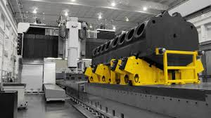 engine milling giant portal mill produces large diesel
