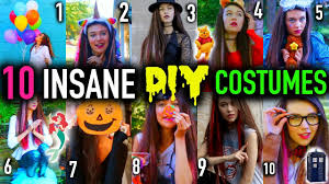 ideas for homemade halloween costume 10 diy last minute costume ideas that will blow your mind youtube