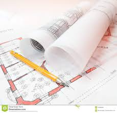 architecture plans stock photo image 60255877
