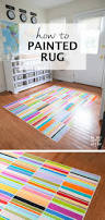 painting a floor how to paint a rug on the floor decorating tutorials and