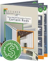 Traverse Drapery Heavy Duty Curtain Rod Guide Decorative Traverse Drapery Rods
