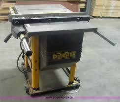dewalt table saw dw746 dewalt dw746 10 table saw item 6101 sold january