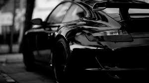 Porsche 911 Black - porsche car in black white hd wallpaper black pinterest