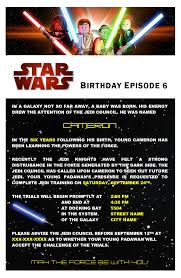 Invitation Cards Party Star Wars Birthday Party Invitations Cards Best Free Star Wars