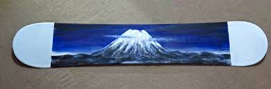 hand painted snowboards for sale niseko hirafu kutchan