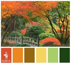 autumn 3 terracotta orange green yellow colour inspiration
