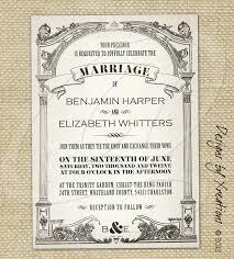 vintage wedding invites vintage wedding invitation templates theruntime