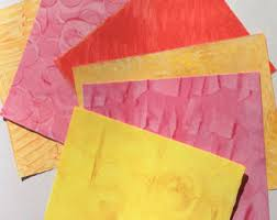 Decorated Paper Paste Paper Etsy