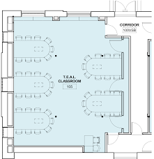 Floor Plan Of Classroom by Hamilton Smith Teal Classrooms Information Technology