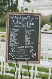chalkboard program wedding chalkboard wedding placement ideas our guide