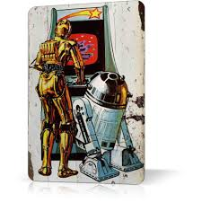metal tin sign star wars rare exclusive vintage retro decor home