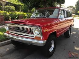 chief jeep color jeep wagoneer cherokee chief v8 4x4