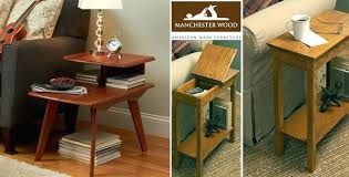 narrow end tables with storage brilliant end tables storage denniswoo narrow end table with drawer