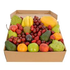 Gourmet Fruit Baskets Deluxe Fruit Hamper Large Fruit Only