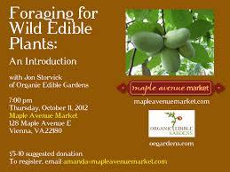 native edible plants events u2013 organic edible gardens llc u2014 oegardens com