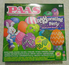 paas easter egg dye paas easter egg dye kit decorating party ebay