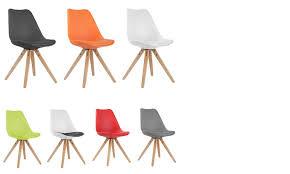 chaises design salle manger 6 chaises scandinaves impressionnant chaise design couleur amazing