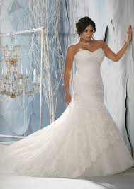 Plus Size Wedding Dresses Uk Morilee Bridal Alencon Lace Over Tulle With Embroidered Appliques