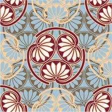 oriental design oriental japanese seamless pattern stock vector illustration