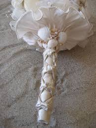 wedding bouquets with seashells oh one day seashell wedding bouquets