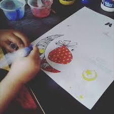 eid mubarak free coloring card for kids ayeina