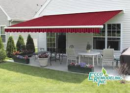Retractable Awning With Screen Awnings Sunrooms Awnings Solar Shades Retractable Awnings Shade