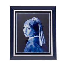 vermeer the girl with the pearl earring painting tile painting girl with the pearl earring vermeer royal