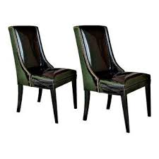 Leather Wing Back Chairs Vintage U0026 Used Wingback Chairs Chairish