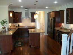 Kitchen Table Lamps Fireplace Interesting Aristokraft Cabinets With Kitchen Island