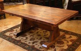 dining room table base dining table rustic tables reclaimed barnwood room trestle base
