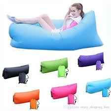inflatable beanbag air sofa bed lounger living room lazy chair