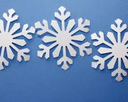 snowflake decoration etsy