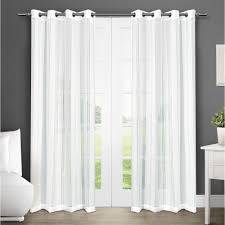 Winter Window Curtains Apollo Winter White Grommet Top Window Curtain Eh8046 01 2 108g