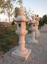 Japanese Garden Lamp by Asian Garden Lanterns Davidsan U0027s Granite Hand Carved Sculptures