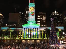 christmas light show 2016 file brisbane city hall during christmas light show in 2016 03 jpg