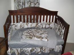 Camouflage Bedding For Cribs White Camouflage Crib Bedding Set W Grey Minky Dot
