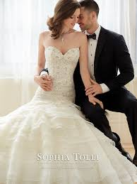 sophia tolli wedding gowns y11628 princess mon cheri bridals