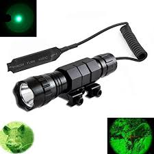 green light for hog hunting amazon com windfire tactical flashlight water resistant cree green