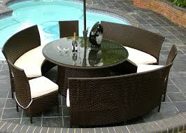 Rattan Patio Dining Set by Plain Rattan Garden Furniture Groupon Life Carver Sets Patio Set