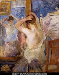 Impressionism In Art Paintings Collection Page - Berthe morisot in the dining room