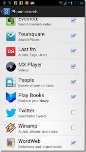 image search android how to search within apps using default android search