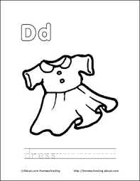 59 best letter d images on pinterest letter d colouring pages