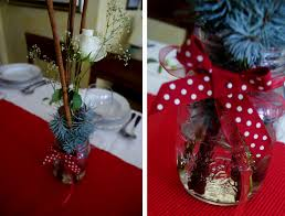 Simple Table Decoration Ideas Christmas by Easy Christmas Table Decorations To Make Simple Christmas Table