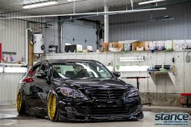 hyundai genesis stance featured ride guillaume s styled genesis stance is everything