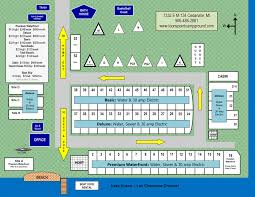 Site Map Loons Point Campground Park Camping Sitemap