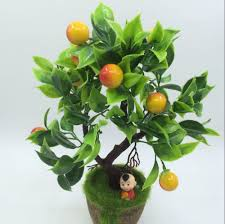 aliexpress com buy 2 pcs plastic branch craft artificial fruit aliexpress com buy 2 pcs plastic branch craft artificial fruit trees home furniture decor garden artificial plants grass foliage simulation flower from