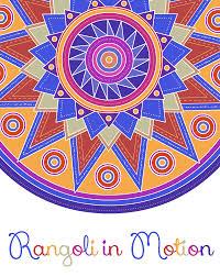 rangoli patterns using mathematical shapes rangoli in motion gif animations on behance